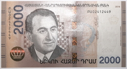 Arménie - 2000 Dram - 2018 - PICK 62a - NEUF - Armenia
