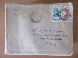 Madagascar (Tananarive) Vers France (Nogent Le Rotrou) - Importante Correspondance De 1949 (81 Enveloppes + Lettres) - Madagascar (1889-1960)
