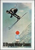 JO72-H/L6 - Jeux Olympiques D'Hiver Sapporo 1972 Ski Saut - Olympic Games