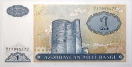 Azerbaïdjan - 1 Manat - 1993 - PICK 14 - NEUF - Arzerbaiyán