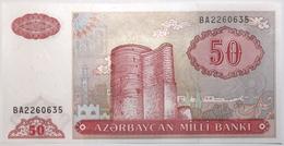 Azerbaïdjan - 50 Manat - 1993 - PICK 17b - NEUF - Arzerbaiyán