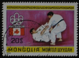 1976 MONGOLIE Mongolia  Les Arts Martiaux, Judo Martial Arts Judo Kampfsport  Judo  Artes Marciales Judo [ak17] - Judo