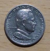 MONACO Rainier III Lot De 6 Pièces De 1/2 Franc 1965 - 68 - 75 - 76 - 77 - 79 - 1960-2001 Nouveaux Francs