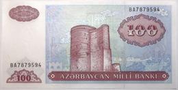 Azerbaïdjan - 100 Manat - 1993 - PICK 18b - NEUF - Azerbeidzjan