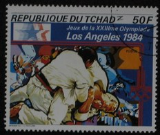 1984 TCHAD Chad  Les Arts Martiaux, Judo Martial Arts Judo Kampfsport  Judo  Artes Marciales Judo [ak18] - Judo