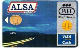Bank Credit Card Visa Cash Spain ALSA , AUTOBUS  BUS - Tarjeta De Credito - Geldkarten (Ablauf Min. 10 Jahre)