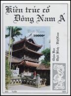 Block No. 103  Vietnam 1993  Keo Pagoda - Vietnam
