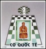 Block No. 105  Vietnam 1994  Chess Master Imperforate - Vietnam