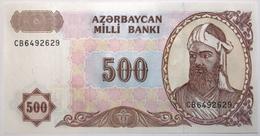 Azerbaïdjan - 500 Manat - 1993 - PICK 19b - NEUF - Azerbeidzjan