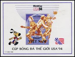 Block No. 106  Vietnam 1994  World Cup, USA (II) - Vietnam