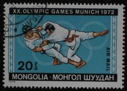 1972 MONGOLIE Mongolia  Les Arts Martiaux, Judo Martial Arts Judo Kampfsport  Judo  Artes Marciales Judo [ak20] - Judo