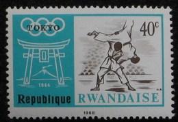 1964 RWANDA   ** MNH Les Arts Martiaux, Judo Martial Arts Judo Kampfsport  Judo  Artes Marciales Judo [ak22] - Judo