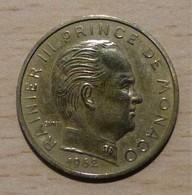 MONACO Rainier III Lot De 6 Pièces De 20 Centimes 3 X 1962 - 74 - 77 - 78 - 1960-2001 Nouveaux Francs
