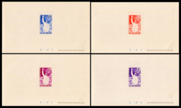 No. 235-238  Vietnam South 1961  Hardcover Block - Viêt-Nam