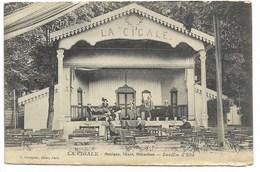 """32-AUCH-""""LA CIGALE"""" - Musique, Chant, Attraction - Jardin D'Eté... Animé  (pelurage Bord Bas) - Auch"""