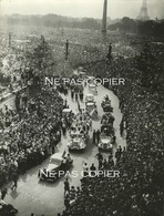 WWII LIBERATION De PARIS Défilé 26 Août 1944 Place CONCORDE Rare Tampon - Guerra, Militari
