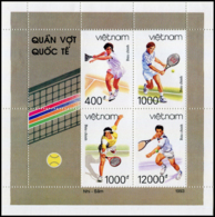 No. 2557-2560  Vietnam 1993 Tennis - Vietnam