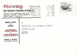 Portugal 1979 Braga Textile Factory Hiper Jockey Cover - Textil