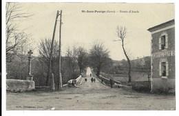 32-ST-JEAN-POUTGE-Route D'Auch...  Animé  Hôtel-Café - France