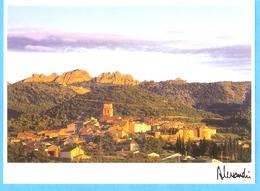 Sablet (Vaison La Romaine-Vaucluse-Provence)-Belle Vue Sur Le Village Et La Montagne-Photo Alessandri J-F - Vaison La Romaine