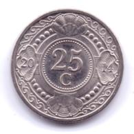 NETHERLAND ANTILLAS 2014: 25 Cent, KM 35 - Antillen (Niederländische)