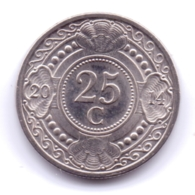NETHERLAND ANTILLAS 2014: 25 Cent, KM 35 - Antille Olandesi