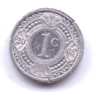 NETHERLAND ANTILLAS 2008: 1 Cent, KM 32 - Antillen (Niederländische)