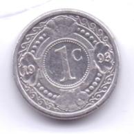 NETHERLAND ANTILLAS 1993: 1 Cent, KM 32 - Antille Olandesi