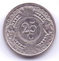 NETHERLAND ANTILLAS 1991: 25 Cent, KM 35 - Antillen (Niederländische)