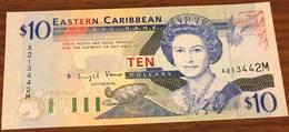 Eastern Caribbean CARAIBI Orientali EST 10 $ 1994 Montserrat Pick#32m Lotto.1751 - Caraïbes Orientales