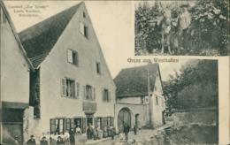 68 WESTHALTEN / Gasthof Zur Sonne Louis Koehler Weinsticher / - Other Municipalities