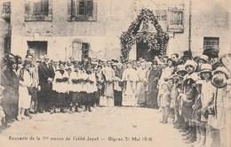 CPA (34)  GIGNAC Souvenir De La 1ère Messe De L' Abbé JAYET Mai 1926 (2 Scans) - Gignac