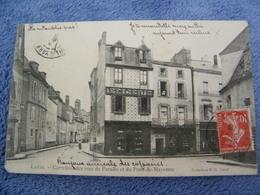 C.P.A.- Laval (53) - Carrefour Des Rues Du Paradis Et Du Pont De Mayenne - Magasin Epicerie - 1909 - SUP - (DB 15) - Laval