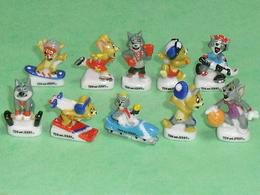 Série De Fèves Complète : Tom Et Jerry En Compétition - Cartoons