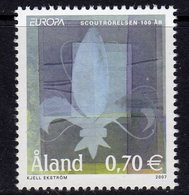 Aland 2007 Europa, Scouts, MNH (EU) - Aland