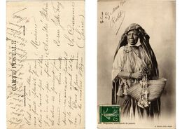 CPA AK Algerie - Folklore - Negresse - Marchande De Jasmin (773748) - Profesiones
