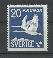 SUECIA  YVERT  AEREO  7a   MNH  ** - Unused Stamps