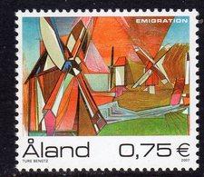 Aland 2007 Emigration, MNH (EU) - Aland