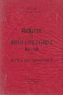 Nomenclature Des Bureaux De Postes Français 1852-1876. Petits Et Gros Chiffres Cotés. Jean Pothion. 1979, TB - Frankreich