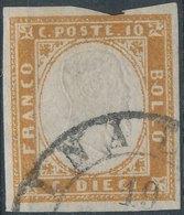 ITALY - SARDINIA, 1855, Mi SA11 - Sardaigne