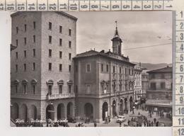 RIETI PALAZZO  MUNICIPALE  ANIMATA VG  1956 - Rieti