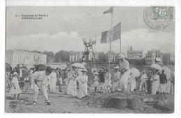 CPA 17 ROYAN  :  Conche De Pontaillac - Concours De Forts Sable   1906 - Royan