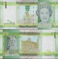 GB - Jersey Pick-Nr: 32a Bankfrisch 2010 1 Pound - Jersey