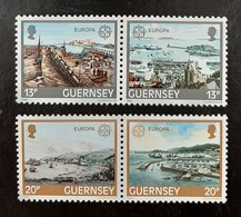 GUERNESEY   Europa 1983  N° Y&T  267 à 270  ** - Guernsey