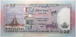 Bangladesh - 25 Taka - 2013 - PICK 62 - NEUF - Bangladesh