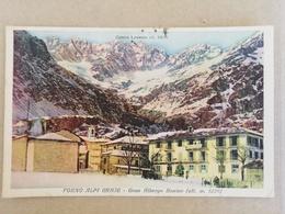 Cartolina Forno Alpi Graie - Gran Albergo Bonino - Italie