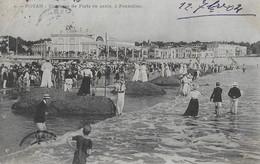 CPA 17 ROYAN  :  Conche De Pontaillac - Concours De Forts En Sable -   1904 - Royan