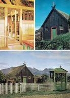 1 AK Island * Die Víðimýri Kirche In Der Gemeinde Skagafjörður - Die Kirche Wurde 1834 Erbaut * - Iceland
