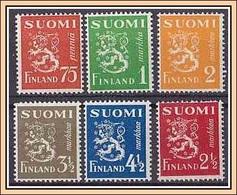 (268-273) Finnland 1942 ** MNH/postfrisch (A-8-33) - Finnland