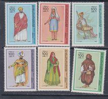 Libye N° 1358 / 63 XX Différents Costumes Des Régions Libyennes, Les 6 Valeurs Sans Charnière, TB - Libyen